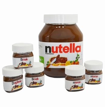 Mini Nutella bokaaltje