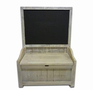 Koffer met schrijfbord
