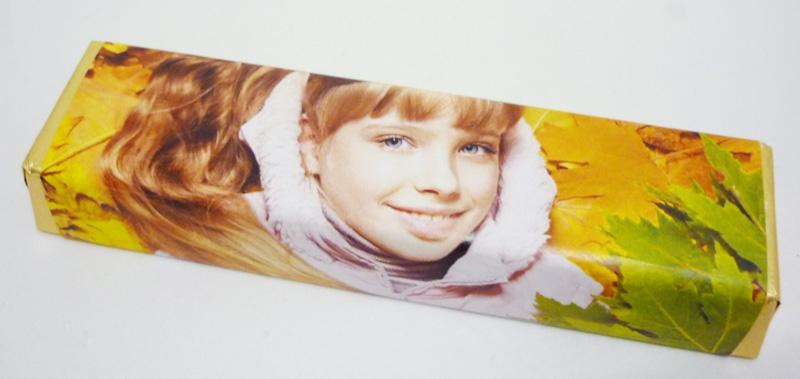 Chocolade met label