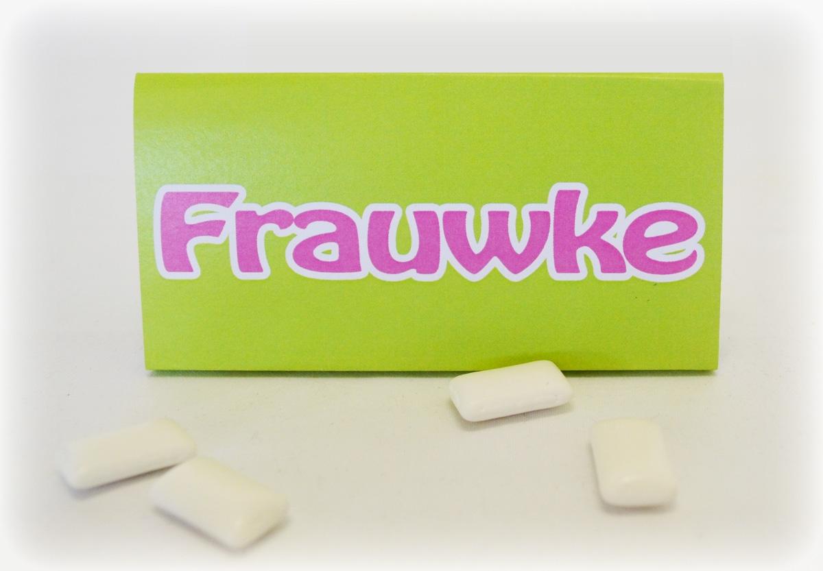 Kauwgom met label