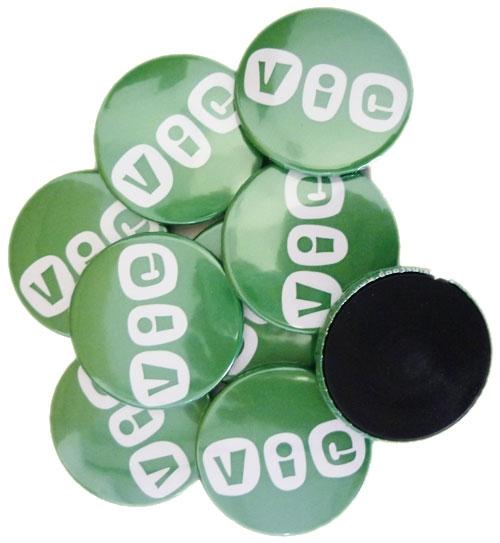 Magneten groot bedrukt