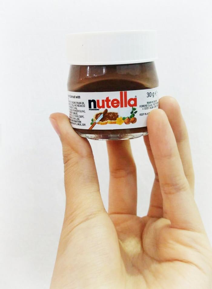 Mini Nutella bokaaltjes