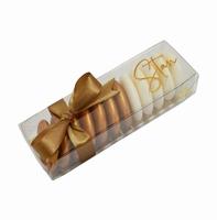 Micadoosjes met goudkarton