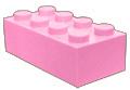 Roze blokje