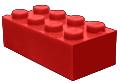 Rood blokje