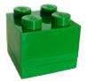 Groen lego doosje