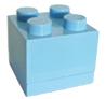 Blauw lego doosje