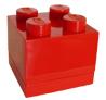 Lichtblauw lego doosje