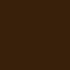Dubbelzijdig satijnen lint bruin