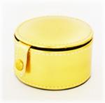 Lederen portemonnee goud
