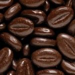 Koffieboon melk