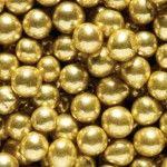 Suikerparels goudkleurig