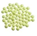 Mini-confetti Vanparys groen lemon