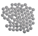 Mini-confetti Vanparys koraal