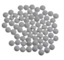 Mini-confetti Vanparys parelgrijs