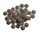 Mini-confetti Vanparys choco taupe