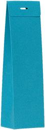 Hoog doopsuikertasje turquoise