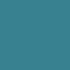Katoenen lint turquoise