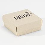 Eco blanco luxe-doosje letterpress