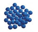 Smarties/lentilles koningsblauw