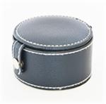 Lederen portemonnee blauw