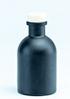 zwart flesje met rosé gouden dopje
