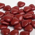 Mini hartjes Vanparys goud satijn