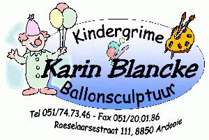 Karin Blancke kindergrime & Ballonclown
